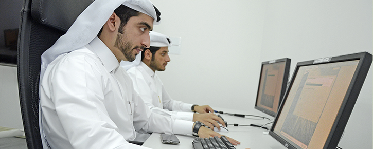 As a part of Qatarization & Development (Q&D) improvement strategy, Q&D team has completed the computerized English Language exam