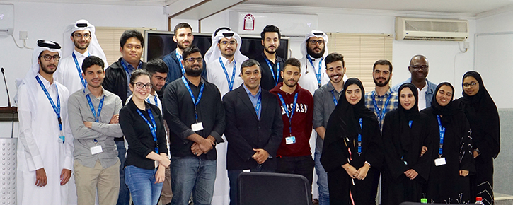 Texas A&M University in Qatar sent its students to Qatar Aluminium for an industrial visit on 14th November 2018. The group consisted of 14 male student, 7 female students and 1 faculty member from their Mechanical Engineering program.